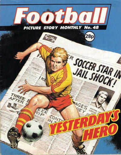 Cover for Football Picture Story Monthly (D.C. Thomson, 1986 series) #48