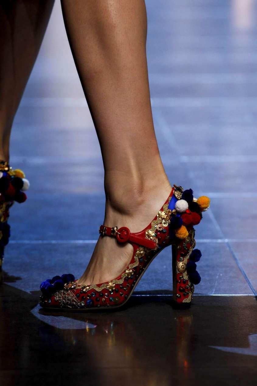 Collezione scarpe Dolce e Gabbana Primavera-Estate 2016 ...