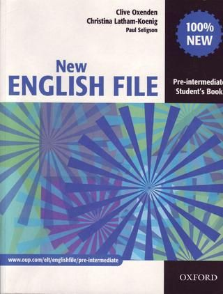 New English File Pre Intermediate Student S Book Oxford