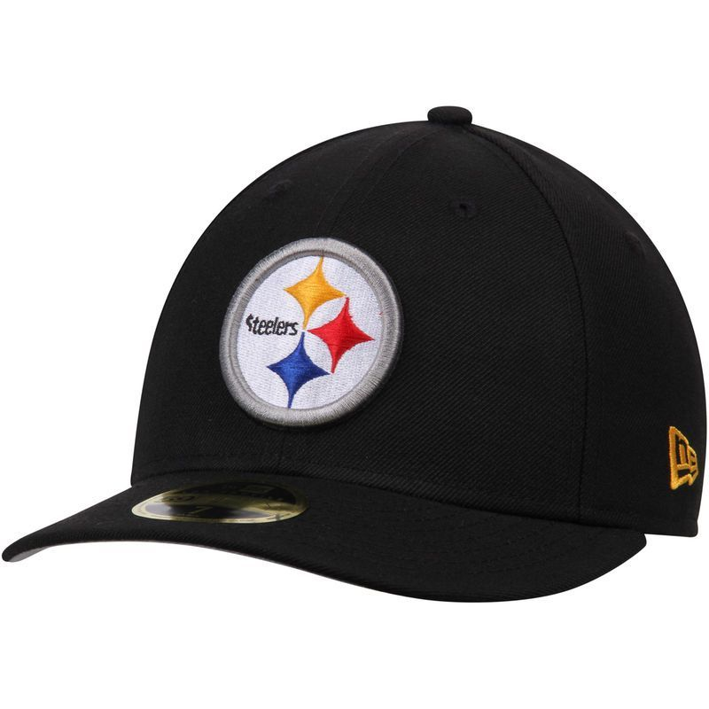 42f2e272 Pittsburgh Steelers New Era Omaha Low Profile 59FIFTY Structured Hat ...