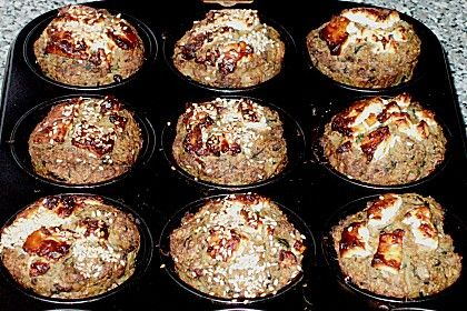 Hackfleisch - Gemüse - Muffins (Rezept mit Bild) | Chefkoch.de