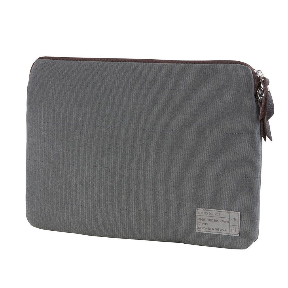 "Hex: District 15"" MacBook Pro Retina Sleeve - Grey Washed Canvas (HX1310)"