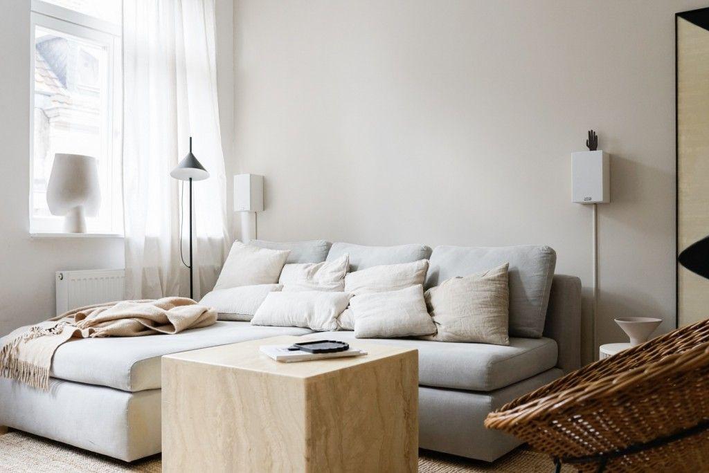 Neue Wandfarbe Im Wohnzimmer Von Alpina Feine Farben Furniture