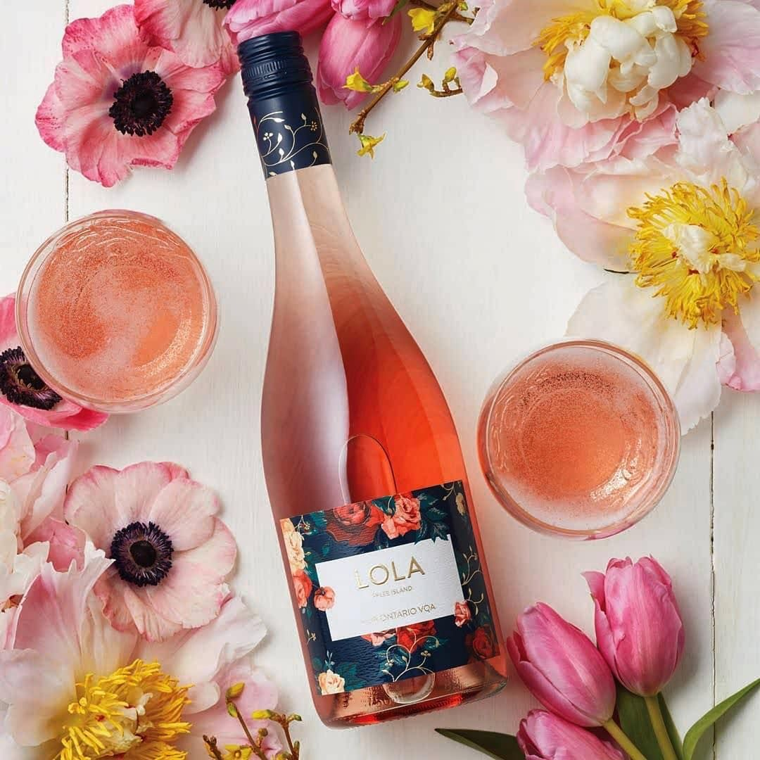 Repost Lcbo Bring The Fruity And Floral Pelee Island Lola Blush Vqa To Your Easter Table Repost Lcbo Bring The Fr Wine Bottle Flowers Wine Easter Table