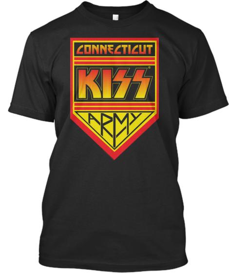 Kiss Army Connecticut Kiss Army Shirts T Shirt