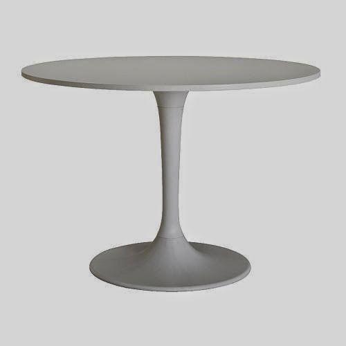 DIY Faux Marble Tulip Table