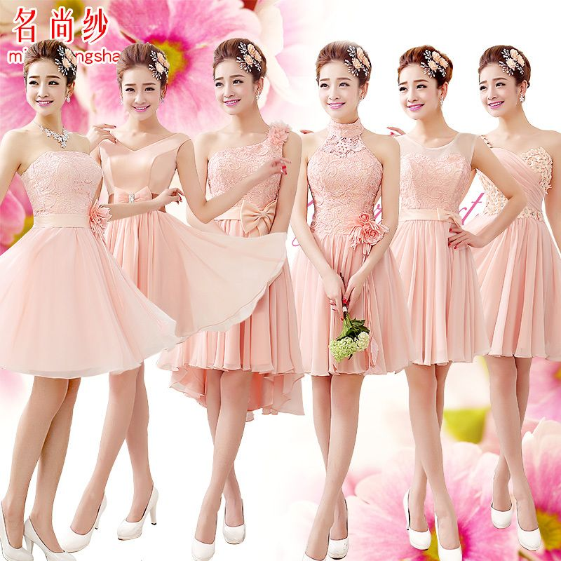 Find More Bridesmaid Dresses Information about LF 5546 Silk Chiffon ...