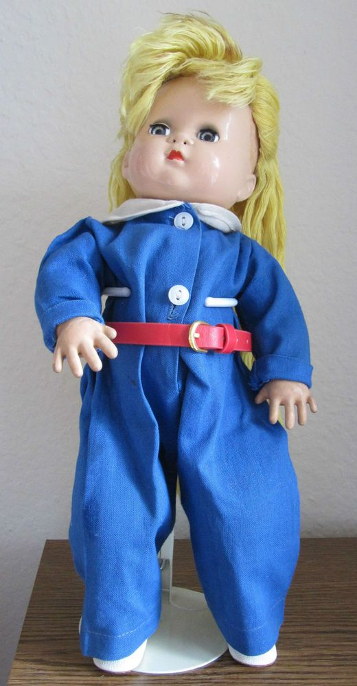 IDEAL 1947 SPARKLE PLENTY DOLL MAGIC SKIN  BODY IS INTACT & NOT BLACK #Dolls