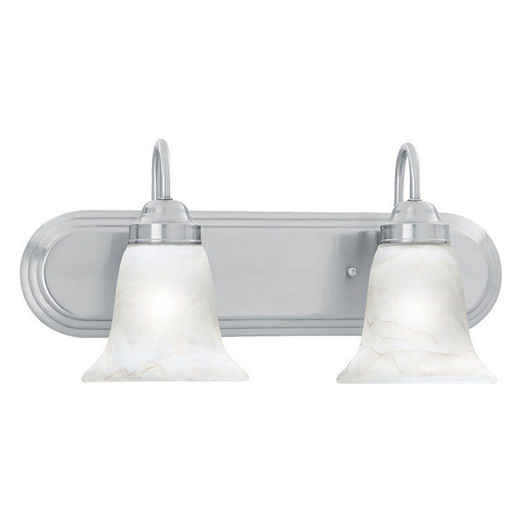 Homestead Two Light Bathroom Vanity