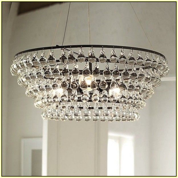 Awesome Robert Abbey Bling Chandelier Knock Off   Best Home Design Ideas .