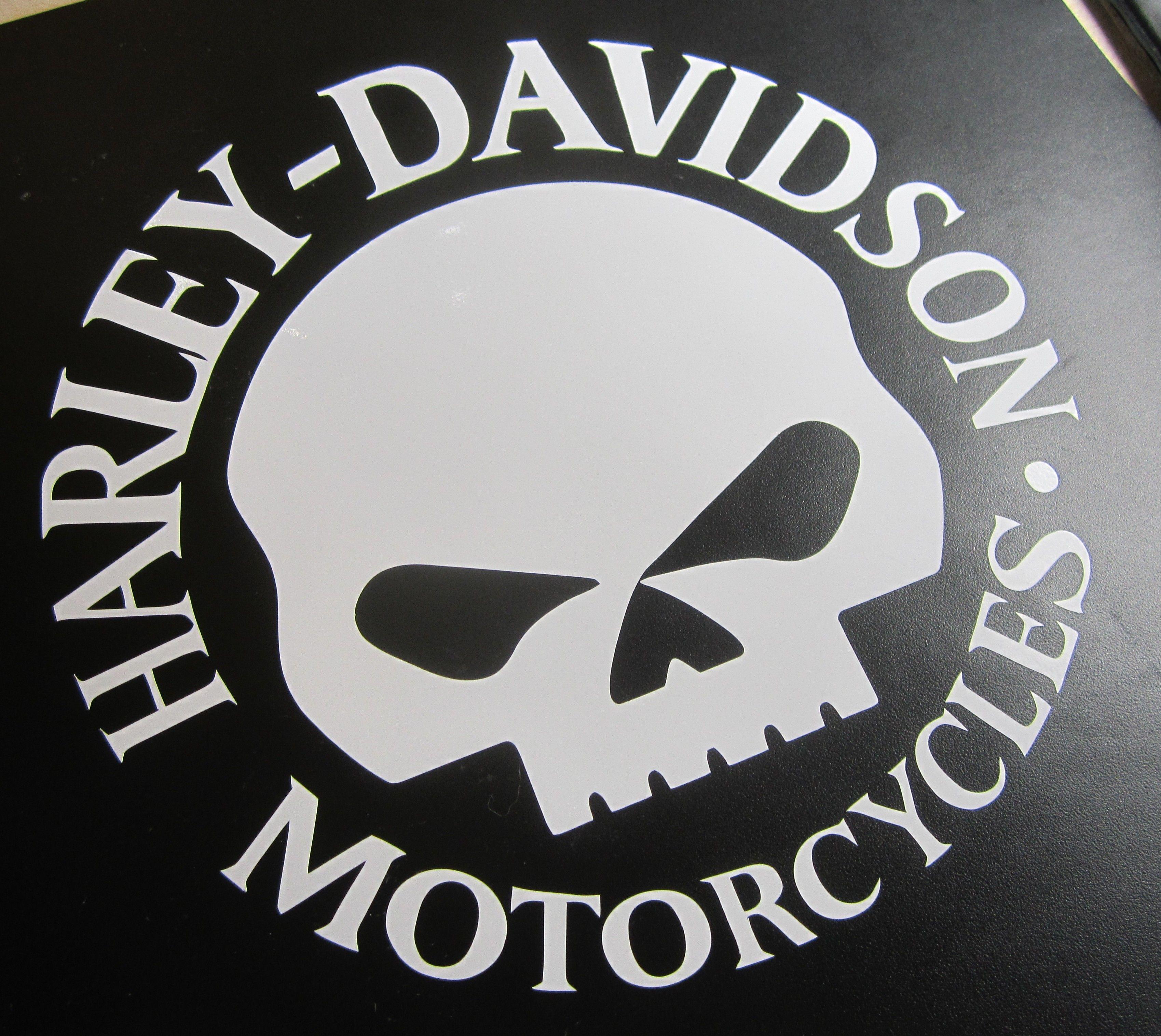 Harley Davidson Decal Biker Sticker Hd Skull Harley Davidson Decals Harley Harley Davidson [ 3034 x 3398 Pixel ]