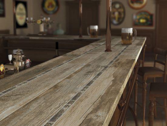 Wood Look Ceramic Tile Countertop Home Decor In 2020 Tile Countertops Kitchen Kitchen Remodel Countertops Outdoor Kitchen Countertops