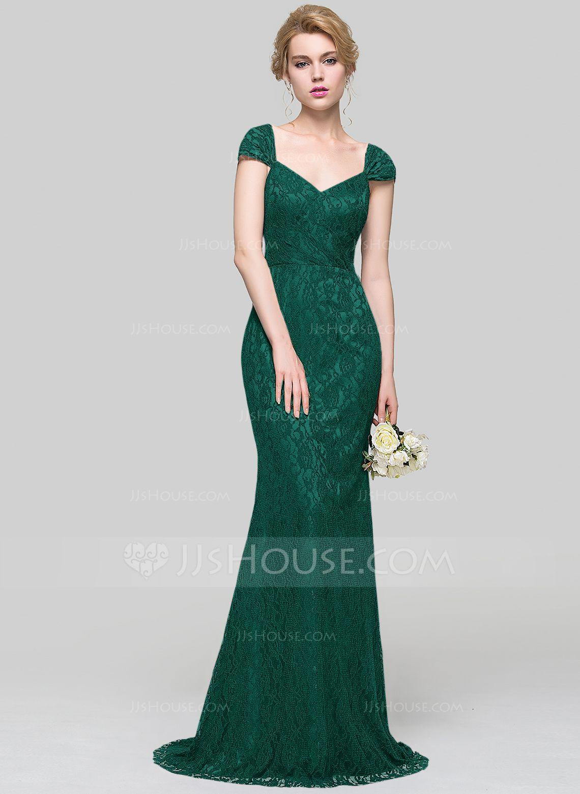 Vestidos dama de honor corte sirena