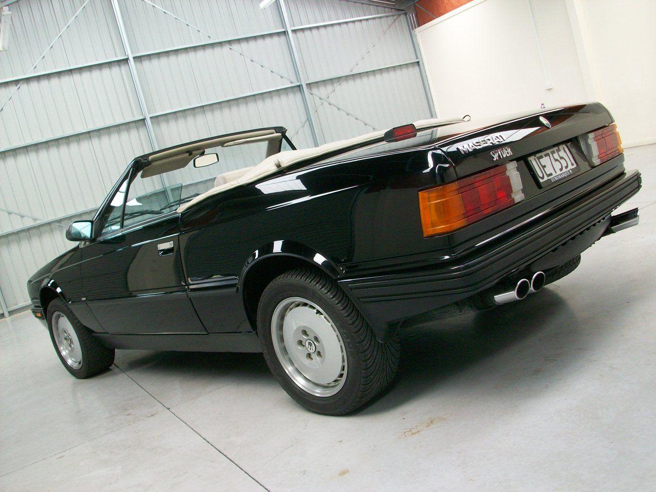 1989 Maserati Bi Turbo Spyder | Voiture
