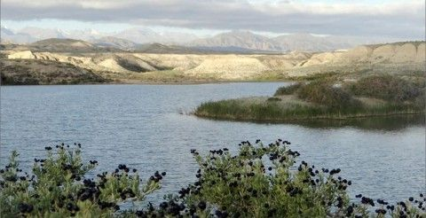 Tiny salty lakes near Ysyk Kol emerged in 2001, but become very popular as a therapeutic site.