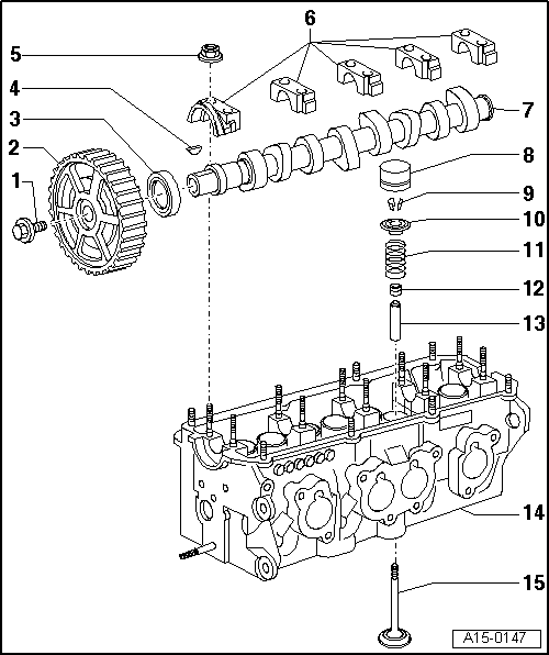Skoda Workshop Manuals > Fabia Mk1 > Power unit > 2,0/85