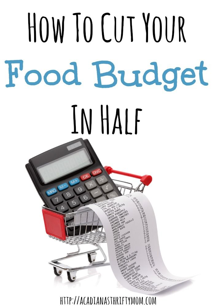 how to cut your food budget in half food budget budgeting and