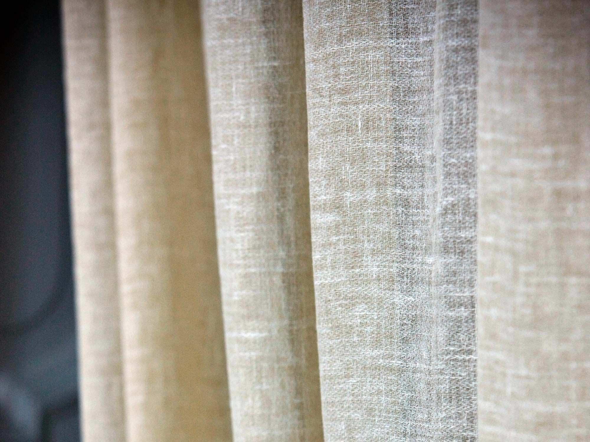 lino es una fibra vegetal se emplea sobre todo para cortinas revestimientos y - Cortinas Lino