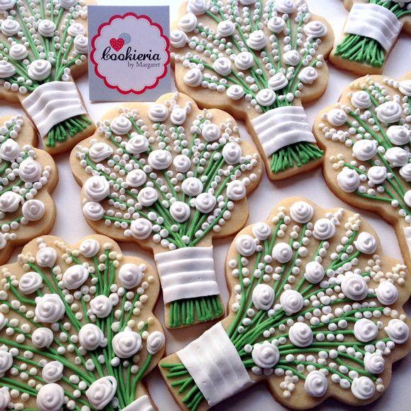Biscoitos Decorados Casamento