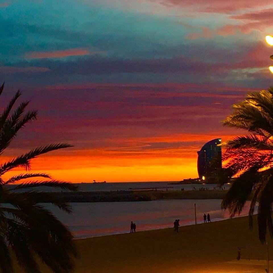 #Barcelona posta de Sol
