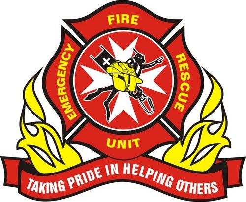 emergency fire rescue unit decals patches firefighting rh pinterest ca fire rescue logo images