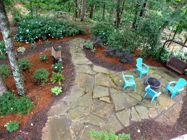 Shady backyard a very very very fine house pinterest for Shady backyard landscaping ideas