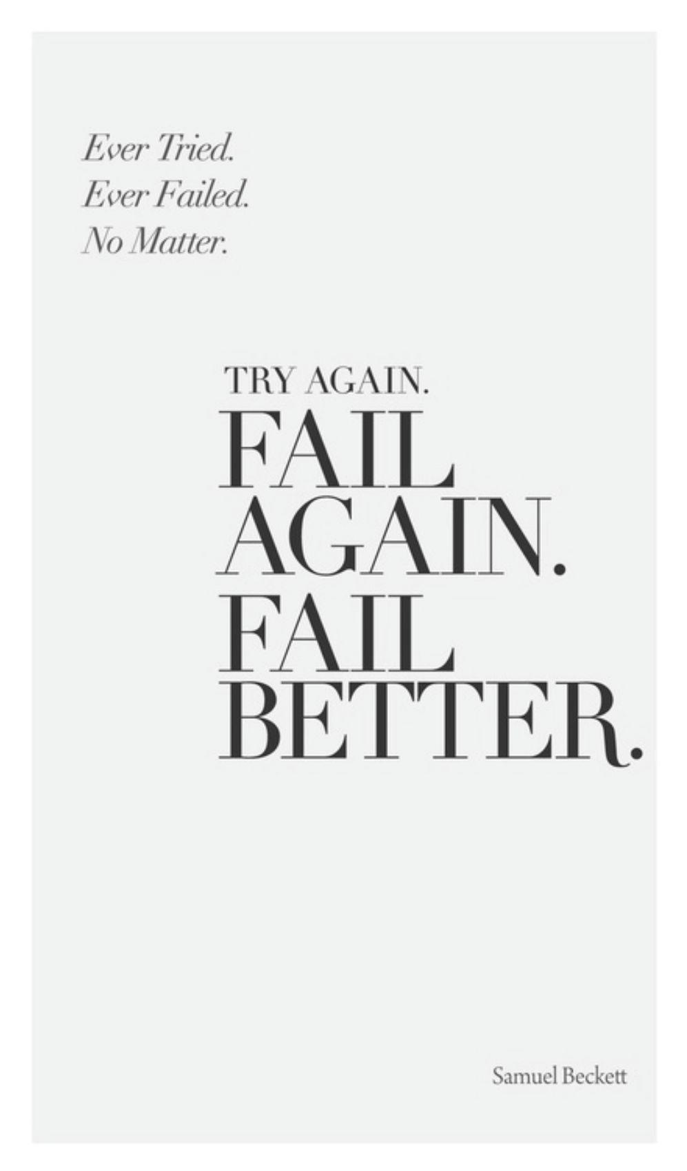 Love Never Fails Quote 40 Pinterestready Inspirational Quotes  Samuel Beckett Wisdom