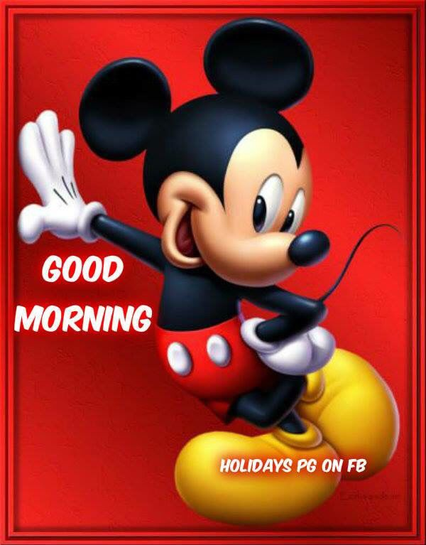 Mickey Mouse Good Morning Mickey Mouse Mickey Mouse Wallpaper Mickey Mouse Art