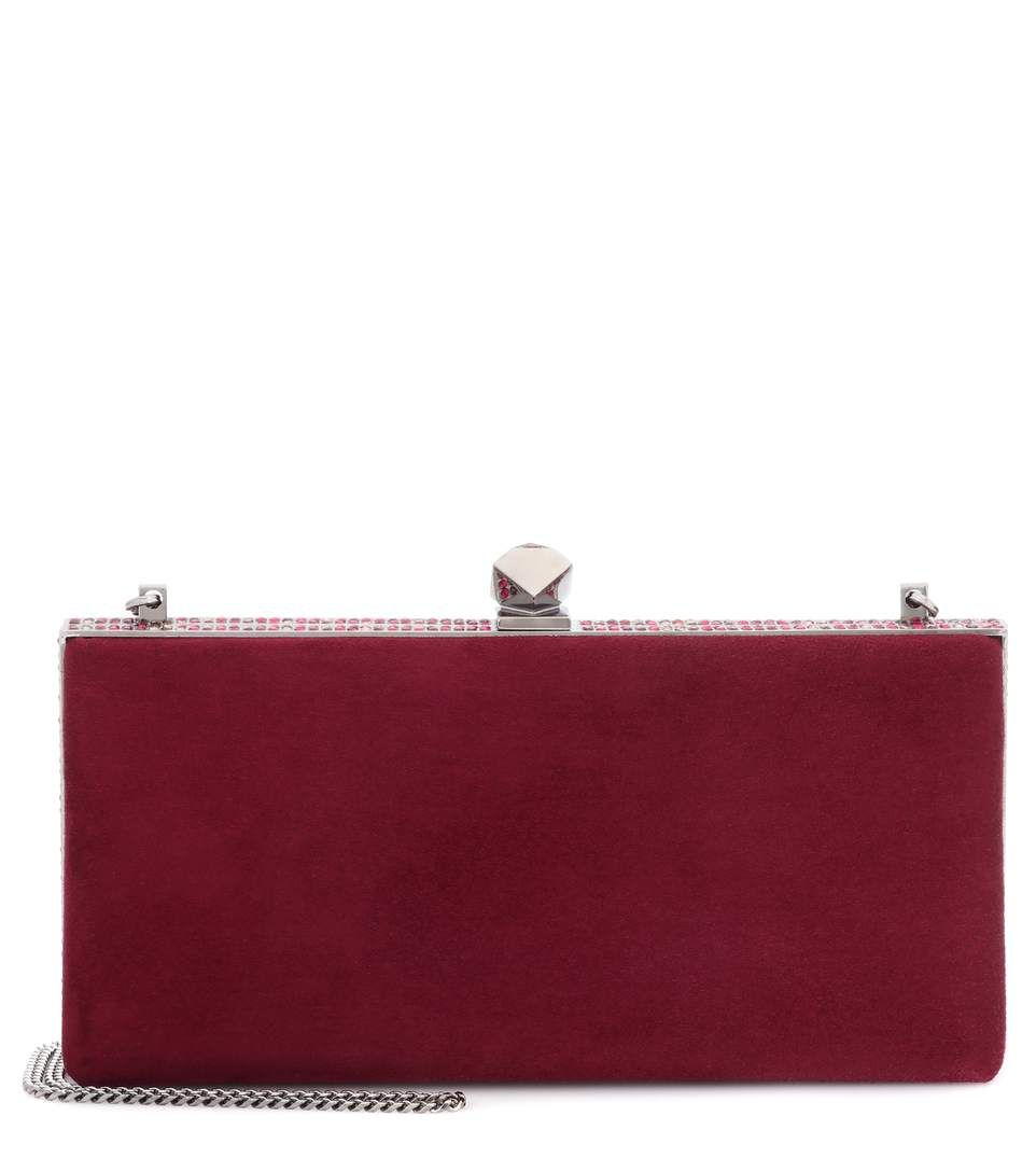 Jimmy Choo Celeste suede clutch | Bags | Pinterest | Shoulder bags, Bag and  Shoulder