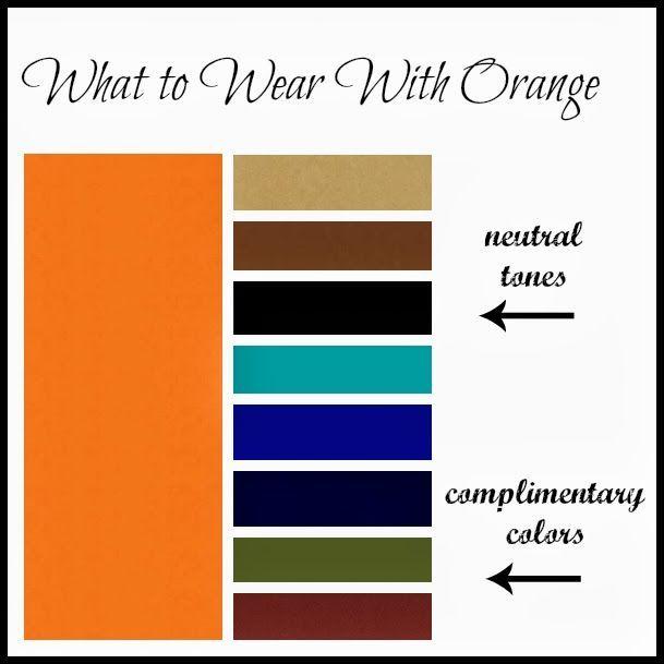 Orange Schnittmuster Und Tipps Pinterest Color Combos