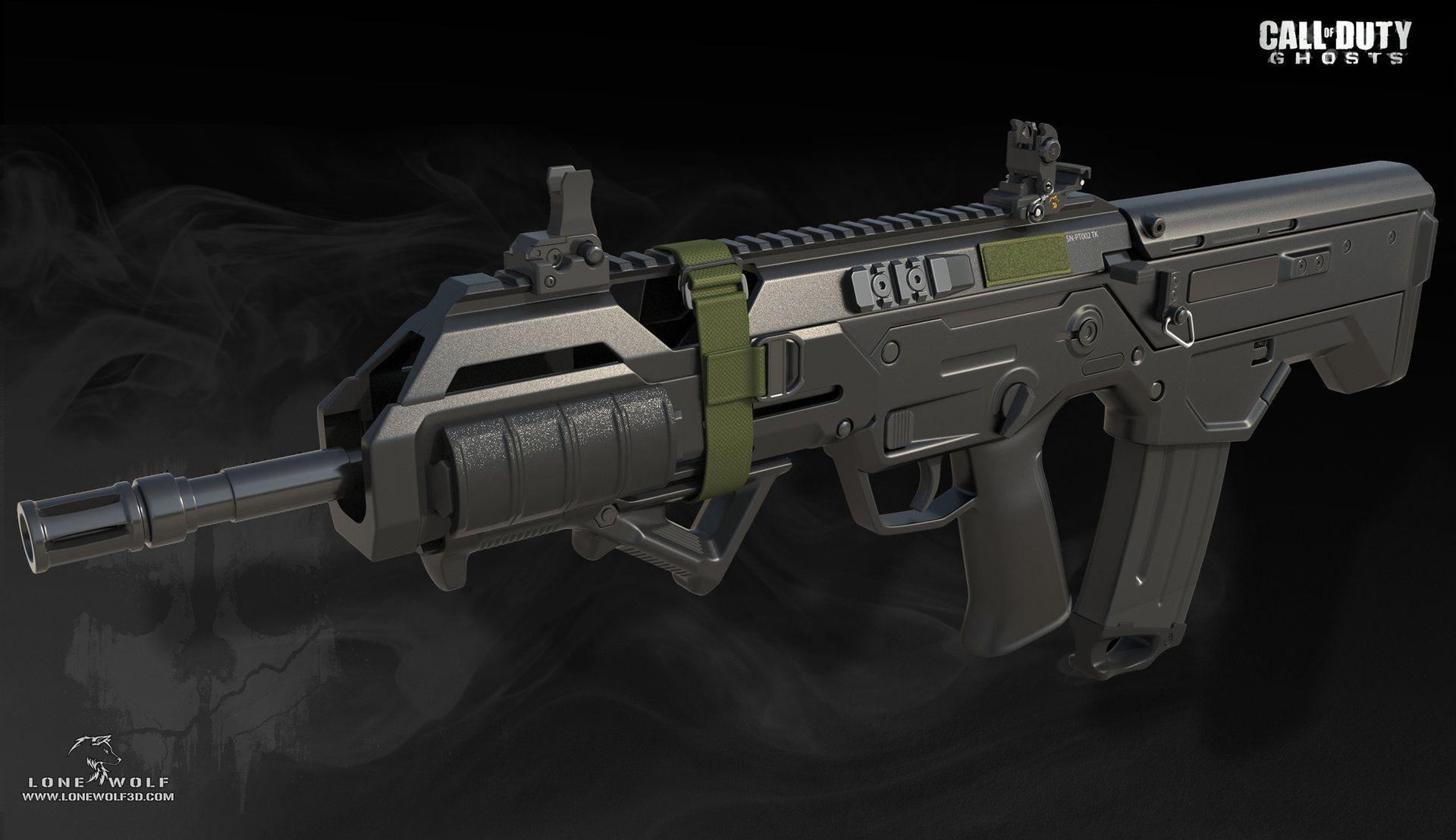 Call Of Duty Ghosts Reno Levi Disenos De Unas Armas Tácticas