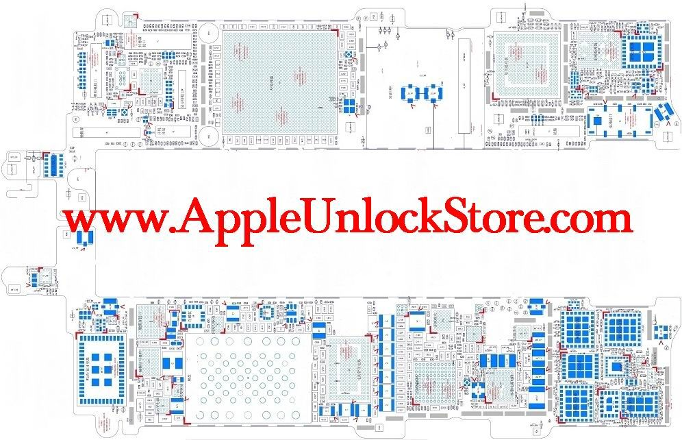 iphone 5s circuit diagram schematic sevice manual 2018 rh pinterest com