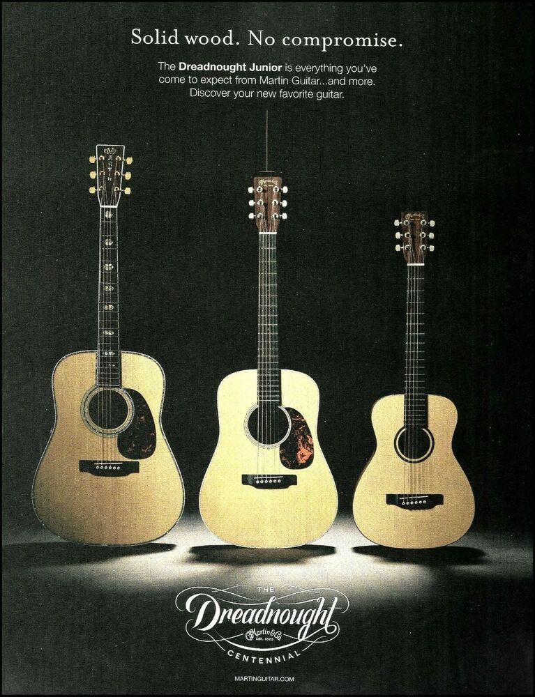 Martin Dreadnought Junior D 45 D Jr E Lxm Guitar 2016 Advertisement 8 X 11 Ad 2b Martin Martin Guitar Guitar Jason Isbell