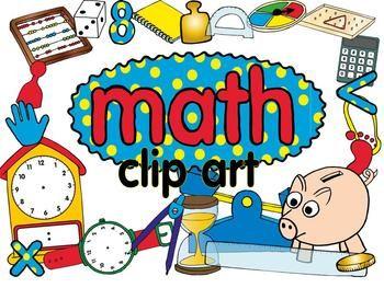 Math clip art set | Clip art, Math and Art