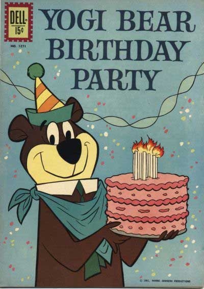 A Yogi Bear Birthday To You Cartoons Comics Pinterest