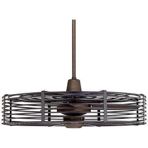 32 Vintage Breeze Dc Bronze Black Cage Ceiling Fan 21c48 Lamps Plus Caged Ceiling Fan Ceiling Fan Black Ceiling Fan Industrial cage ceiling fan