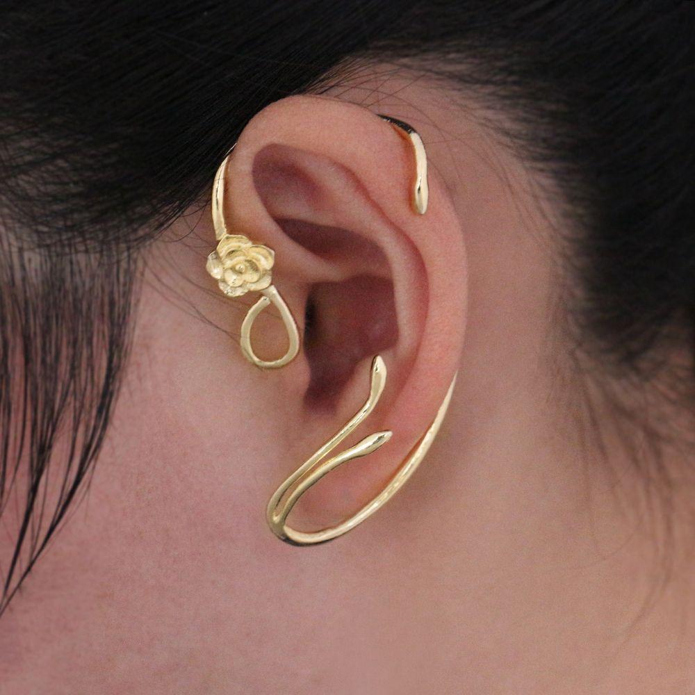 Schönheit und das Biest Ohrringe Ohr Manschette Belle Cosplay ...