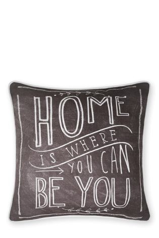 Buy Home Is Where You Can Be You Cushion online today at Next: Israel
