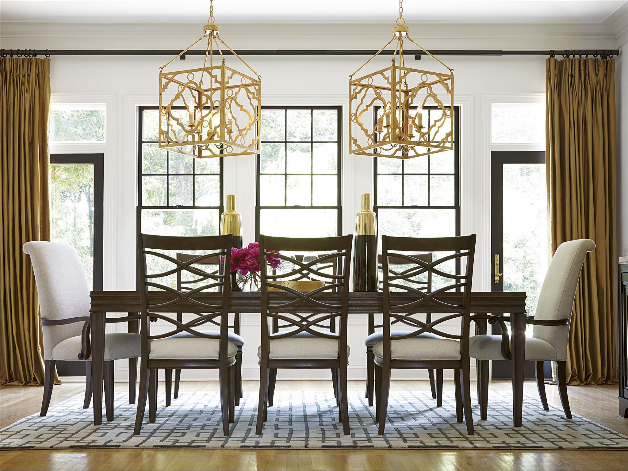 Universal Furniture Dining Room California Dining Table 475653   Stacy  Furniture   Grapevine, Allen,