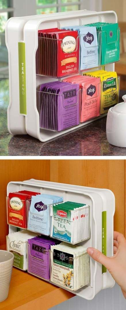 49 ideas kitchen gadgets organization pantries in 2019 tea organization kitchen gadgets on kitchen organization gadgets id=76900