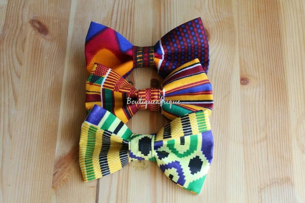 Bowtie for men african gifts for him boho bow tie etsy