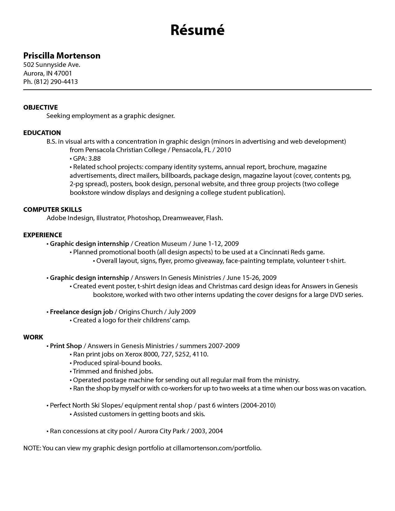 11 Resume Formats You Can Choose From Cover Letter For Resume