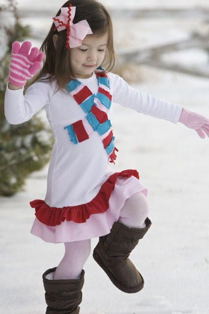 Winter Wonderland Dress -   15 DIY Clothes Winter kids ideas