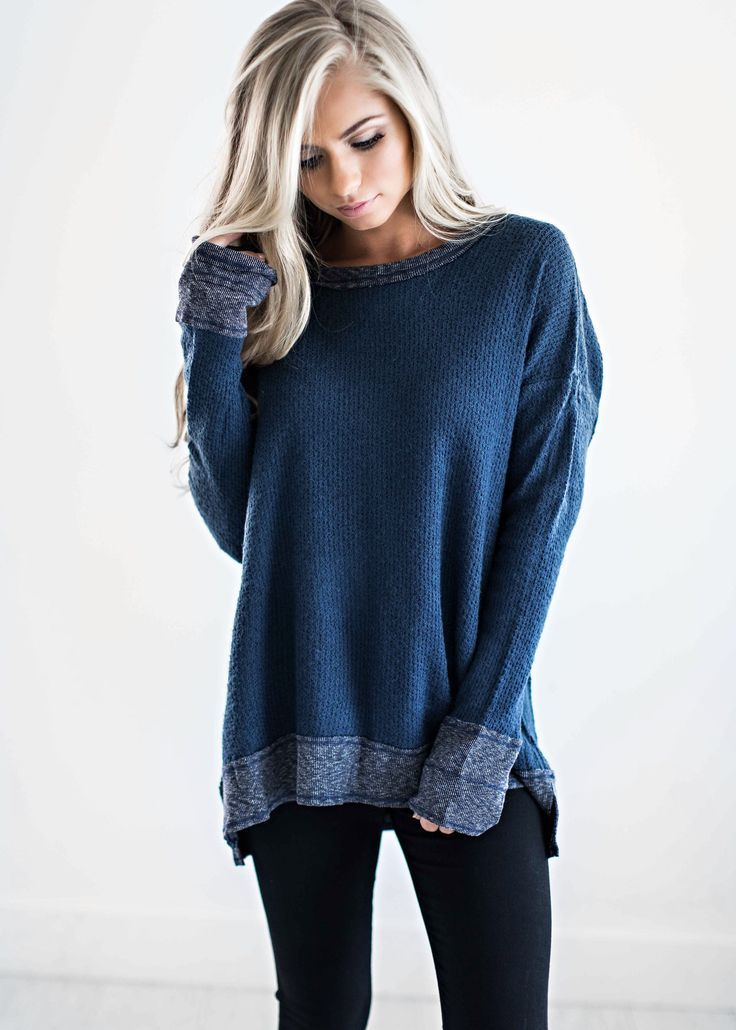 Sweaters, Blue Sweater, Fall Fashion, Womens Fashion, Shop