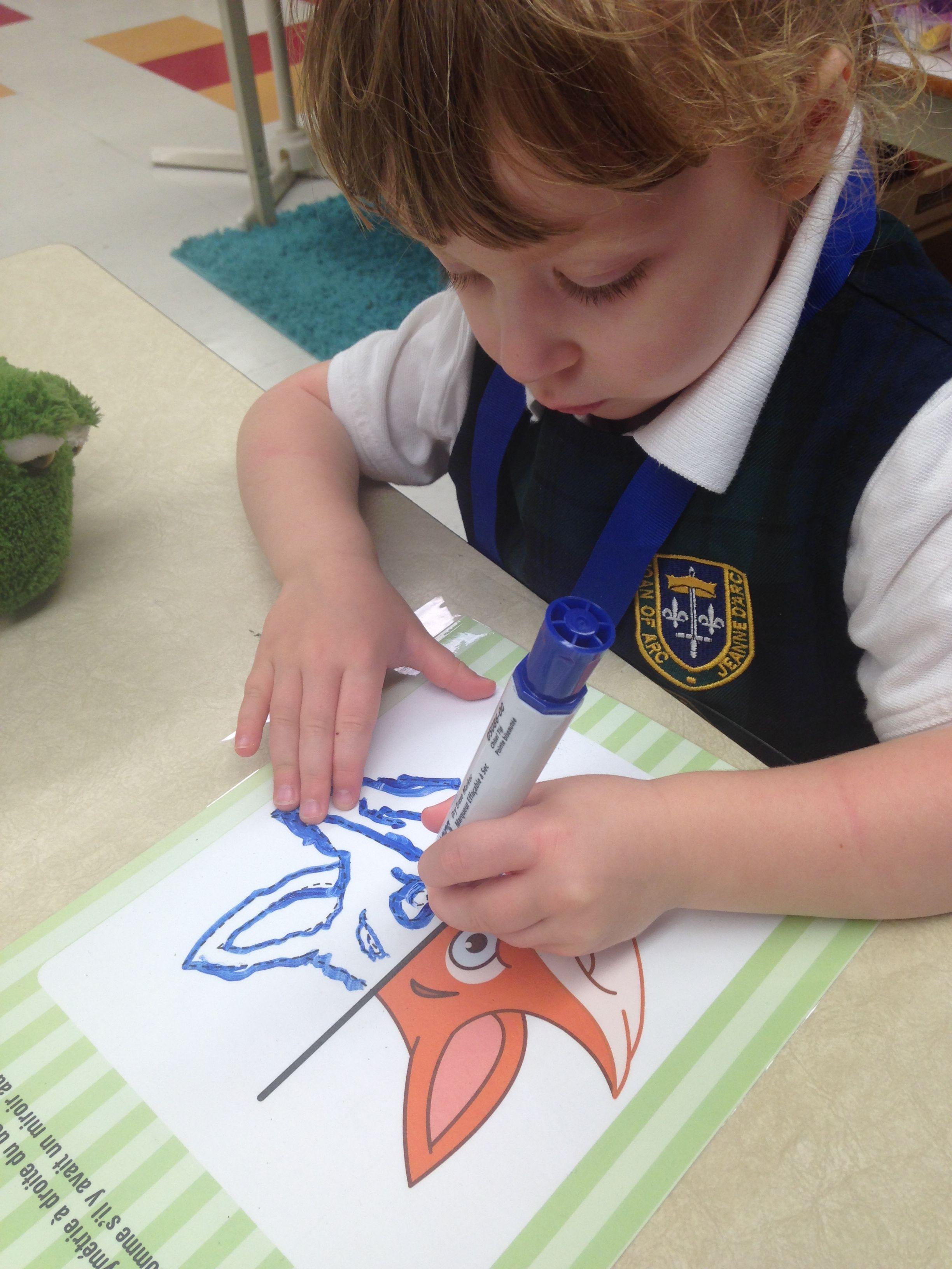 La pré-écriture en maternelle