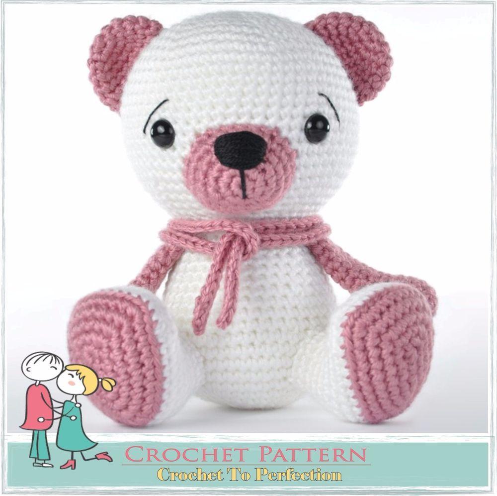 Resultado de imagen de croche bruno teddy bear | peluches ...
