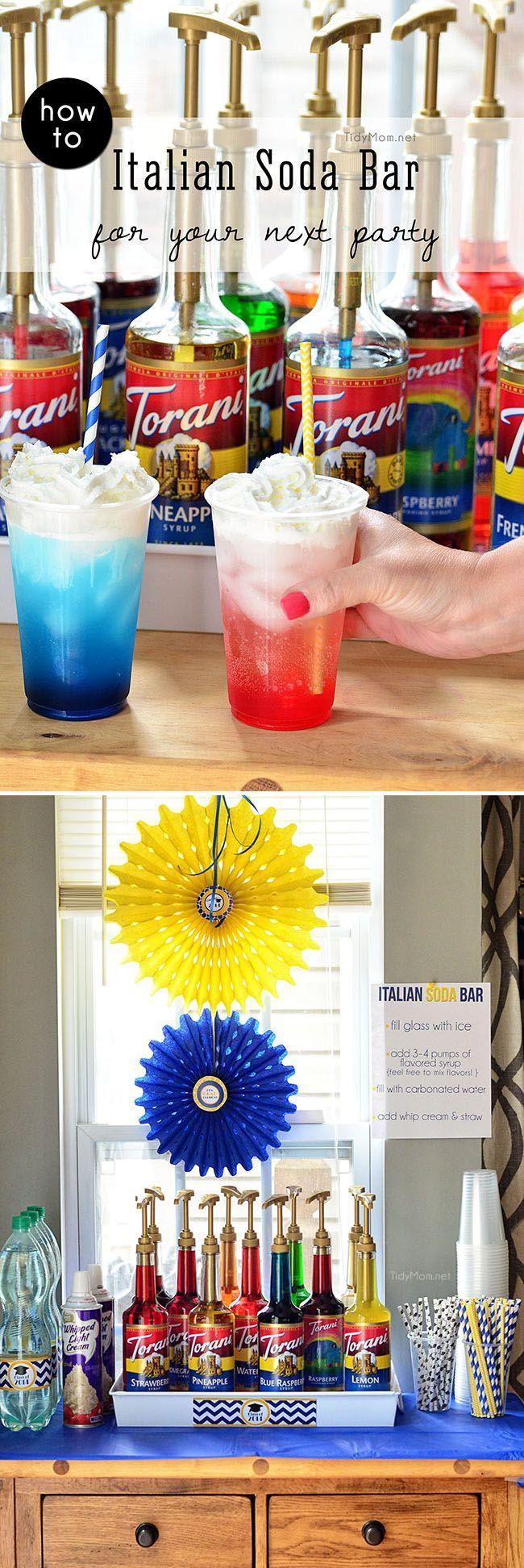 006 How to Build an Italian Soda Bar Italian soda bar, Soda