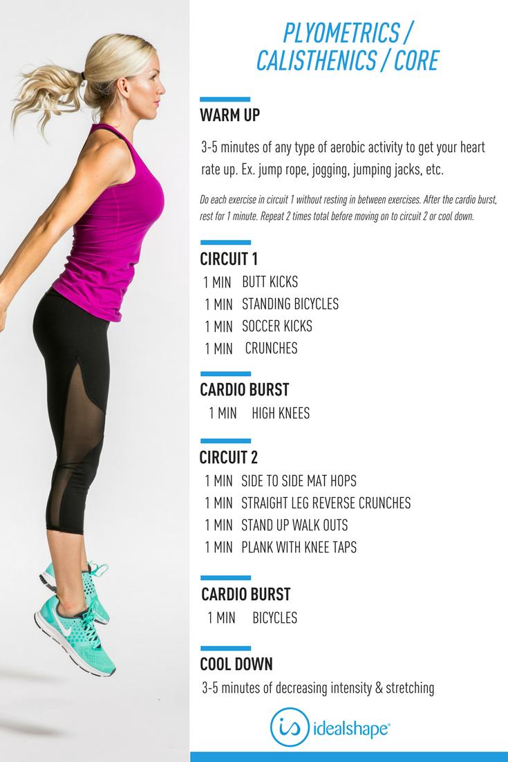 Plyometrics #Calisthenics #Core #Fitness #WorkoutPlan