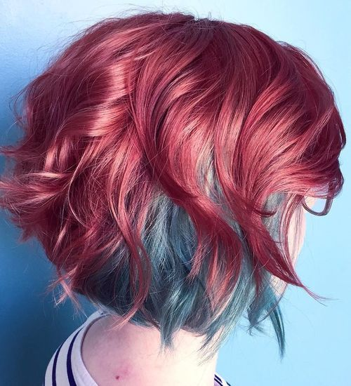 20 Fresh Teal Hair Color Ideas For Blondes And Brunettes Two
