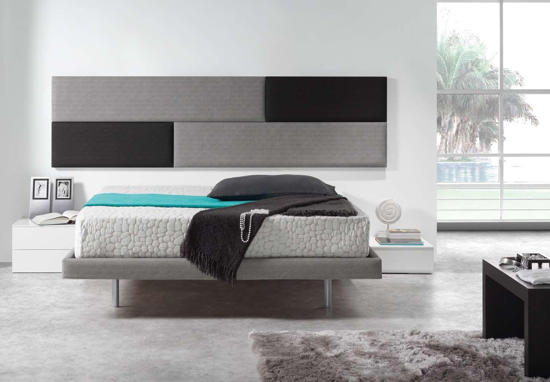 dormitorios con cabeceros tapizados y camas tapizadas | Dormitorios ...